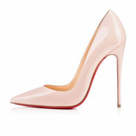 shoes, cute, heels, black heels, blush pink, blush, high heels, pumps, pointed toe pumps, peep toe pumps, platform pumps, high heel pumps, d'orsay pumps, christian louboutinn, red, sexy red bottoms, red heels, nude - Wheretoget