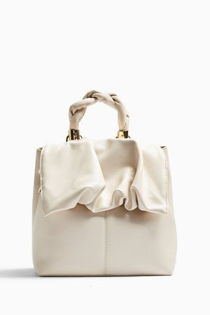 Ruched Flap Backpack | Topshop