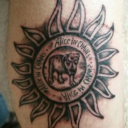 alice in chains tattoo aesthetic