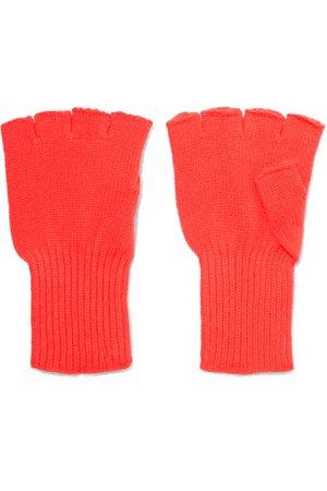 The Elder Statesman   Cashmere fingerless gloves   NET-A-PORTER.COM