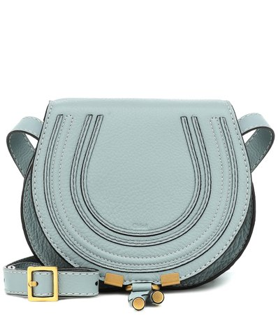 Mini Marcie Leather Shoulder Bag - Chloé | Mytheresa