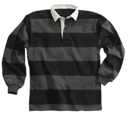 Black and Grey striped Shirt