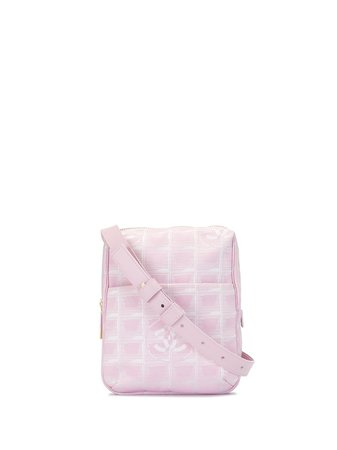 Chanel Pre-Owned 2003 Travel Line CC Shoulder Bag - Farfetch