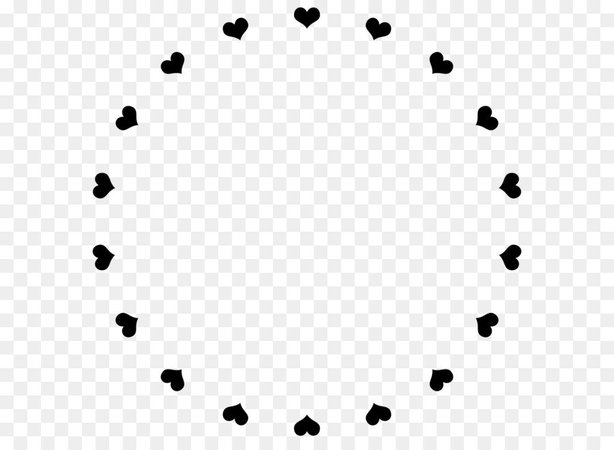 Heart Circle Frame 2