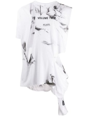 Art School Volume Two Print Tank Top MJRSY001 White | Farfetch