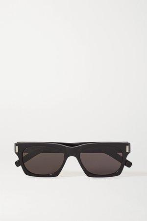 Black Square-frame acetate sunglasses | SAINT LAURENT | NET-A-PORTER