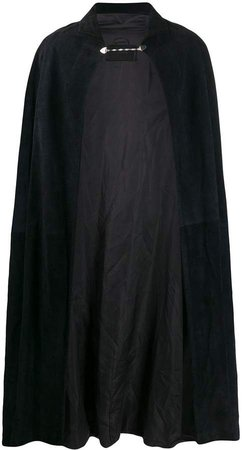 1970s Suede Cape