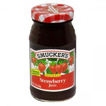 Smucker's Jam Strawberry Seedless » Cereal & Breakfast Foods » General Grocery