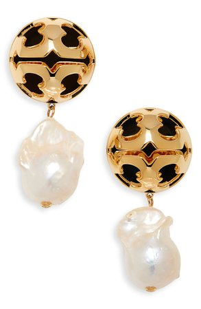 Bubble Pearl Drop Earrings
