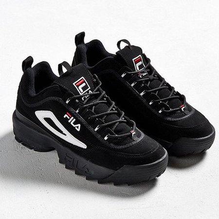 Black Fila Sneakers