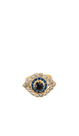 Elizabeth Cole Pax Ring in Multi | REVOLVE