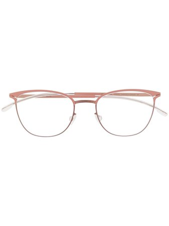 Mykita Circle Frame Glasses Continuity | Farfetch.Com