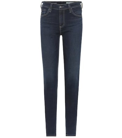 The Farrah high-rise skinny jeans