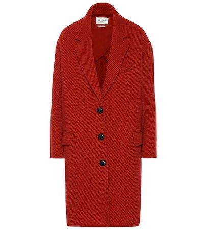Gimi wool-blend coat