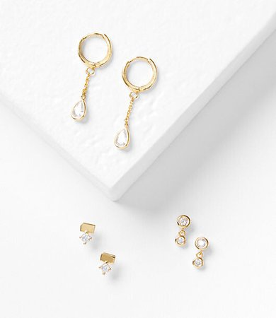 Demi-Fine Earring Set