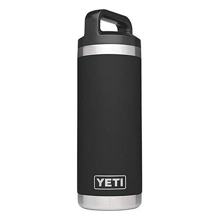 Amazon.com: YETI Bottle Rambler 18Oz Black, 1 Each: Sports & Outdoors