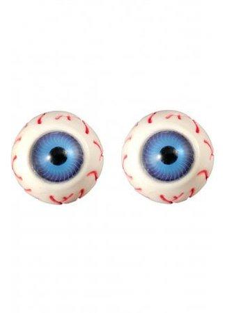 Kreepsville 666 Eyeball Stud Earrings | Attitude Clothing