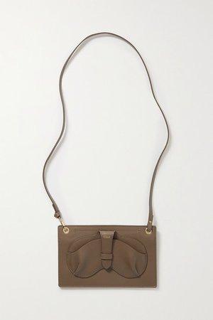 Harrison Leather Shoulder Bag - Green