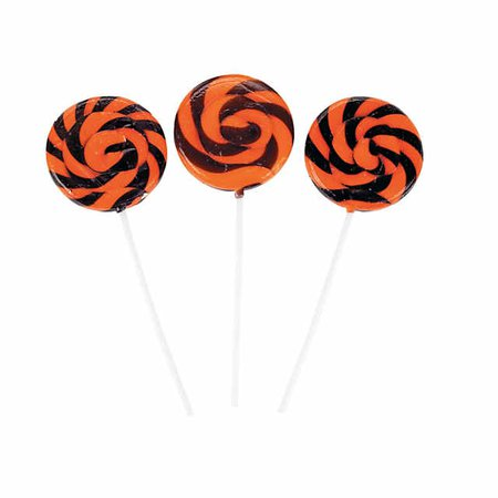 Halloween Swirl Lollipops | Oriental Trading