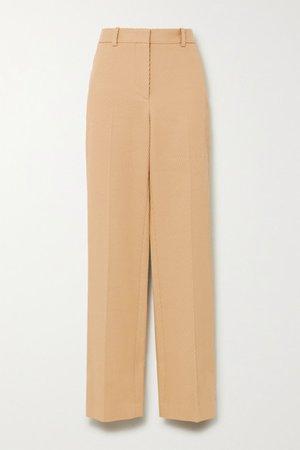 Victoria Beckham   Ribbed cotton straight-leg pants   NET-A-PORTER.COM