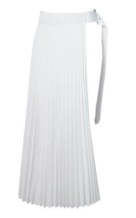 Youser One Side Pleated Skirt Size: S