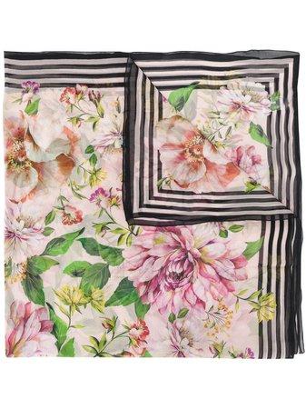 Dolce & Gabbana Floral Scarf - Farfetch