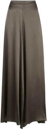 Charmeuse palazzo trousers