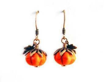 Halloween Jewellery - Spider/Pumpkin Goth Emo Alternative Autumn Seasonal Holiday