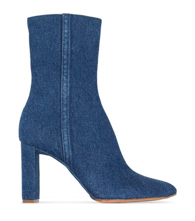 Y/Project (100mm denim ankle boots)