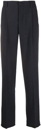 Zadig&Voltaire frayed trim tailored trousers