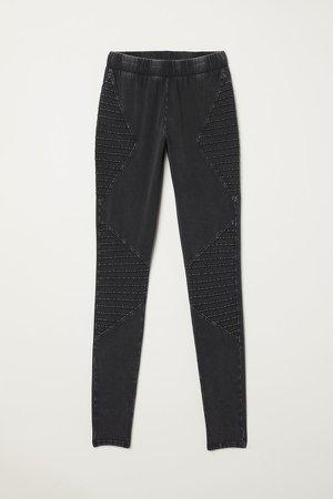 Jersey Leggings - Gray