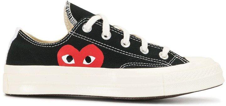 Comme Des Garçons Play X Converse Lace-Up Sneakers