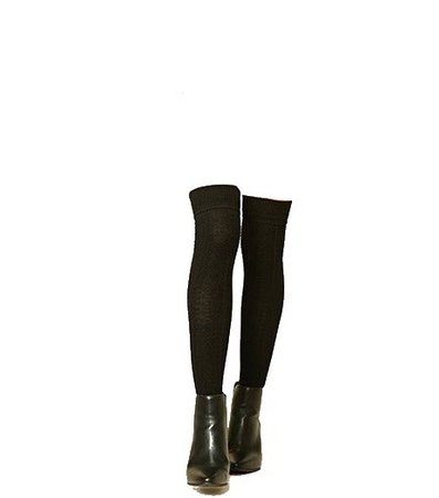 png boots with black socks