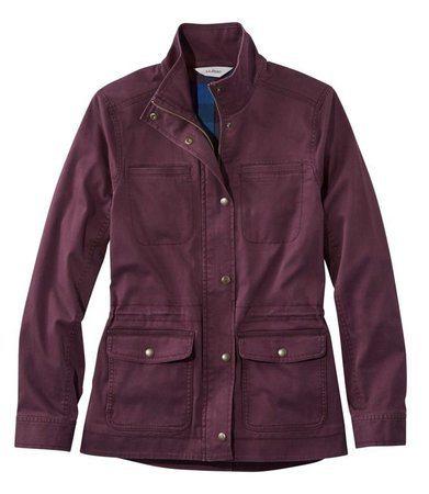 Classic Utility Jacket, Flannel-Lined | L.L. Bean