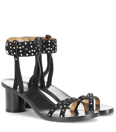 Joakee suede sandals
