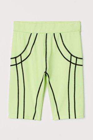 Cycling Shorts - Yellow