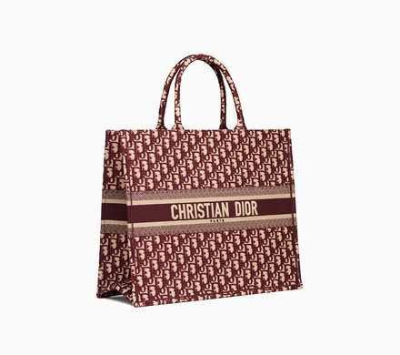 Dior Book Tote bag in embroidered canvas - Dior