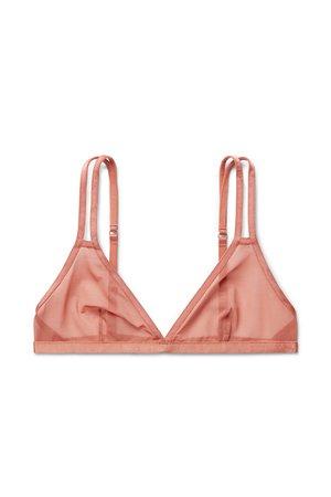 Affinity Soft Bra - Smoky Pink - Underwear - Weekday GB