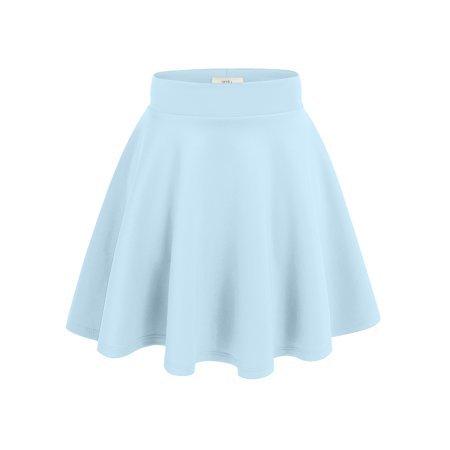 Baby blue skater skirt