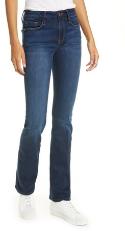 Le Mini Bootcut Jeans