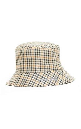 Mach & Mach Universe Check Printed Bucket Hat