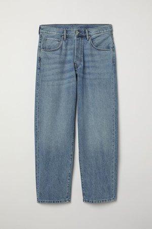 Baggy Jeans - light blue - MEN | H&M