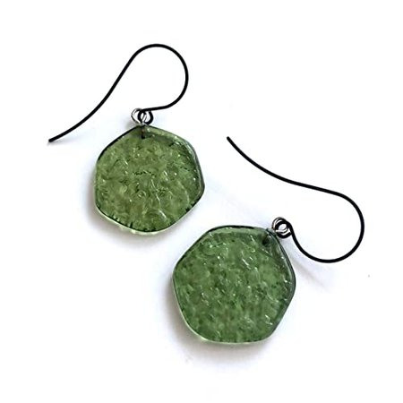 olive green earrings - Google Search