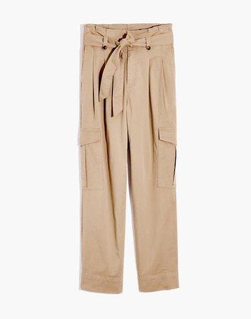 Cargo Paperbag Pants