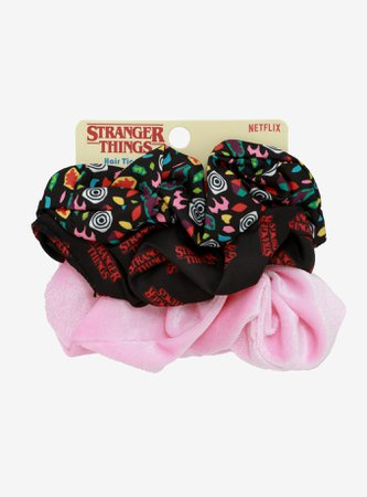 Stranger Things Eleven Scrunchie Set