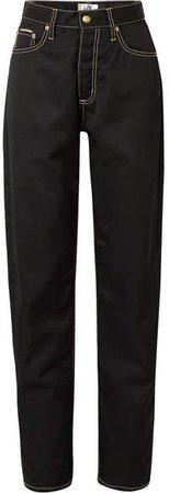 Benz Cali Boyfriend Jeans - Black