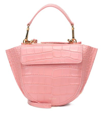 Wandler - Hortensia Mini leather shoulder bag | Mytheresa
