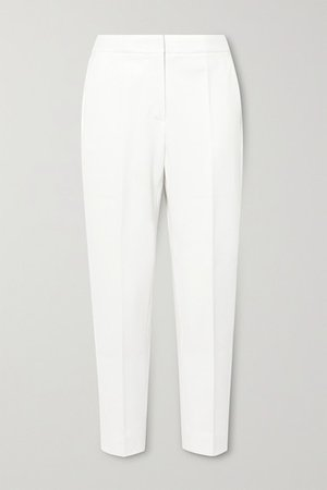Pegno Cady Tapered Pants - White