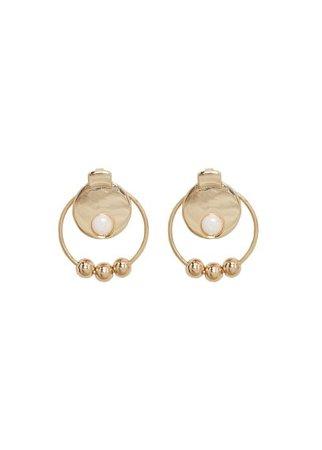 MANGO Semiprecious stone earring