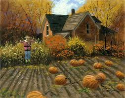 pumpkin patch painting - Google Search